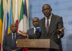 Foreign Minister of Mali Briefs Press 0.65583754