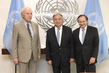 Secretary-General Meets Founder of International Raoul Wallenberg Foundation 2.8369534