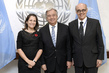 Secretary-General Meets Foreign Ministers of Peru and Canada 2.8369534
