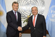 Secretary-General Meets President of Argentina 2.8369534