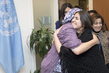 Deputy Secretary General Meets Yazidi Survivor 7.229189
