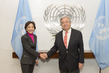 Secretary-General Meets Incoming Deputy Representative for MONUSCO