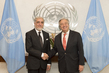 Secretary-General Meets Chief Executive of Afghanistan