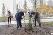 Planting Ceremony for Tree Gifted by Lebanon to United Nations 0.0050039836