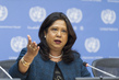 UN Special Representative on Sexual Violence in Conflict Speaks to Press