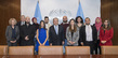 Secretary General Meets Palestinian Journalists Participating in DPI Training Programme 2.8393319