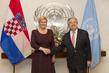 Secretary-General Meets President of Croatia 2.8393474