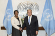 Secretary-General Meets Former Special Representative on Sexual Violence in Conflict 2.8396316