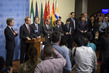 Permanent Representatives of Germany, United Kingdom, France, Sweden and Italy Adresses the Press 4.0581446