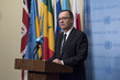 Head of UN Department of Political Affairs Addresses Press