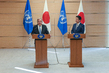 Secretary-General and Prime Minister of Japan Jointly Address Press 12.496784