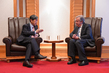 Secretary-General Meets JICA President