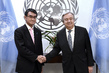 Secretary-General Meets Foreign Minister of Japan 2.8396316