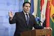 Permanent Representative of Israel Briefs Press