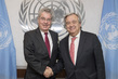 Secretary-General Meets Former President of Austria