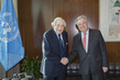 Secretary-General Meets Former President of World Bank 2.83926