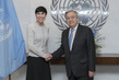 Secretary-General Meets Foreign Minister of Norway 1.0