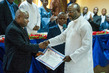 President-elect of Liberia Receives Official Certification of Election 4.7833557