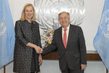 Secretary-General Meets Minister for Foreign Trade and Development Cooperation of the Netherlands 1.0