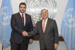 Secretary General Meets Ambassador of Saudi Arabia to US