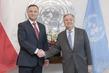 Secretary-General Meets President of Poland 2.8392246