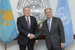 Secretary-General Meets President of Kazakhstan