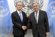 Secretary-General Meets First Vice Foreign Minister of Republic of Korea