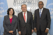Secretary-General Meets Outgoing and Incoming Heads of MONUSCO