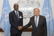 Secretary General Meets Foreign Minister of Mali