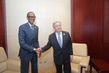 Secretary-General Meets President of Rwanda 3.733918