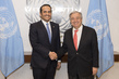 Secretary-General Meets Deputy Prime Minister, Foreign Minister of Qatar 2.8405547