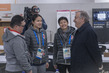 Secretary-General Visits PyeongChang Olympic Village 3.7426424