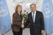 Secretary General Meets Vice Chair of U.S. Water Partnership 2.8405905