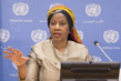 Executive Director of UN Women Guest at Noon Briefing 5.5161533