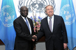Secretary-General Meets Foreign Minister of Côte d'Ivoire