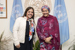 Deputy Secretary-General Meets Vice-President of Ecuador