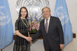 Secretary-General Meets 29th President of Inter-Parliamentary Union