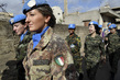 UNIFIL Peacekeepers Patrol Local Market 4.7933397