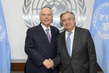 Secretary-General Meets Rabbi Arthur Schneier 2.842176