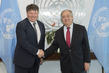 Secretary-General Meets Secretary-General of World Meteorological Organization 2.842176