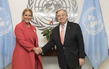 Secretary-General Meets First Lady of Panama 2.842176