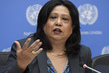 Special Representative on Sexual Violence in Conflict Guest at Noon Briefing 3.1911235