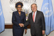 Secretary-General Meets Secretary-General of International Organization of La Francophonie 2.8417225