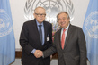 Secretary-General Meets Founder of Crisis Management Initiative 2.8417225