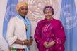 Deputy Secretary-General Meets Second Lady of Ghana 7.20917