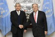 Secretary-General Meets Former President of Costa Rica