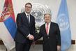 Secretary-General Meets President of Serbia