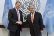 Secretary-General Meets Chief Executive Officer of Gavi