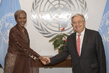 New Permanent Observer of African Union Presents Credentials 2.8432946