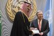 Crown Prince of Kingdom of Saudi Arabia Signs Voluntary Financial Contribution Memorandum 1.0